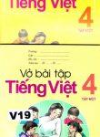 TIENG VIET TAP MOT + VO BAI TAP(åk 4 del 1) läsebok + övningsbok