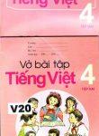 TIENG VIET TAP HAI + VO BAI TAP(åk 4 del 2 ) läsebok + övningsbok