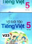 TIENG VIET TAP HAI + VO BAI TAP(åk 5 del 2) läsebok + övningsbok