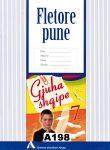 """FLETORE PUNE GJUHA SHQIPE  7 """" Albas"""""""